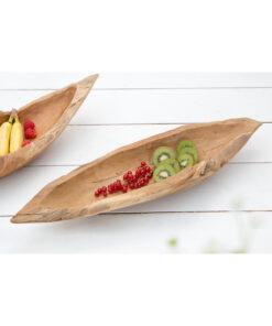 Bol deco/fructe Invicta Natur 60cm