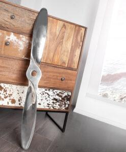 Decoratiune Screw 110cm silver