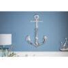 Decoratiune perete Anchor silver 70cm