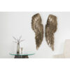 Decoratiune perete Angel 65cm broze antik