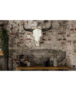 Decoratiune perete El Toro alb