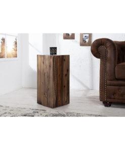 Etajera Invicta Columna 50cm vintage braun