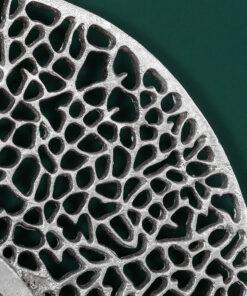 Oglinda Invicta Leaf 76cm silver