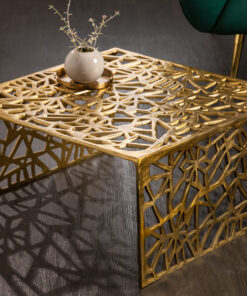 Masa Invicta Abstrakt gold 60cm