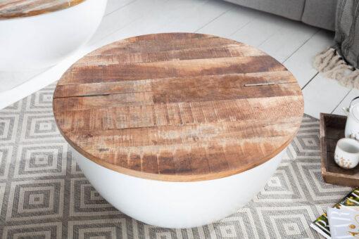 Masa cafea Invicta Okima mango 70cm