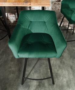 Scaun bar Invicta Abisko green