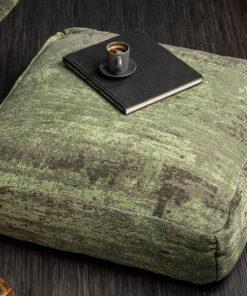 Taburet podea Modart green